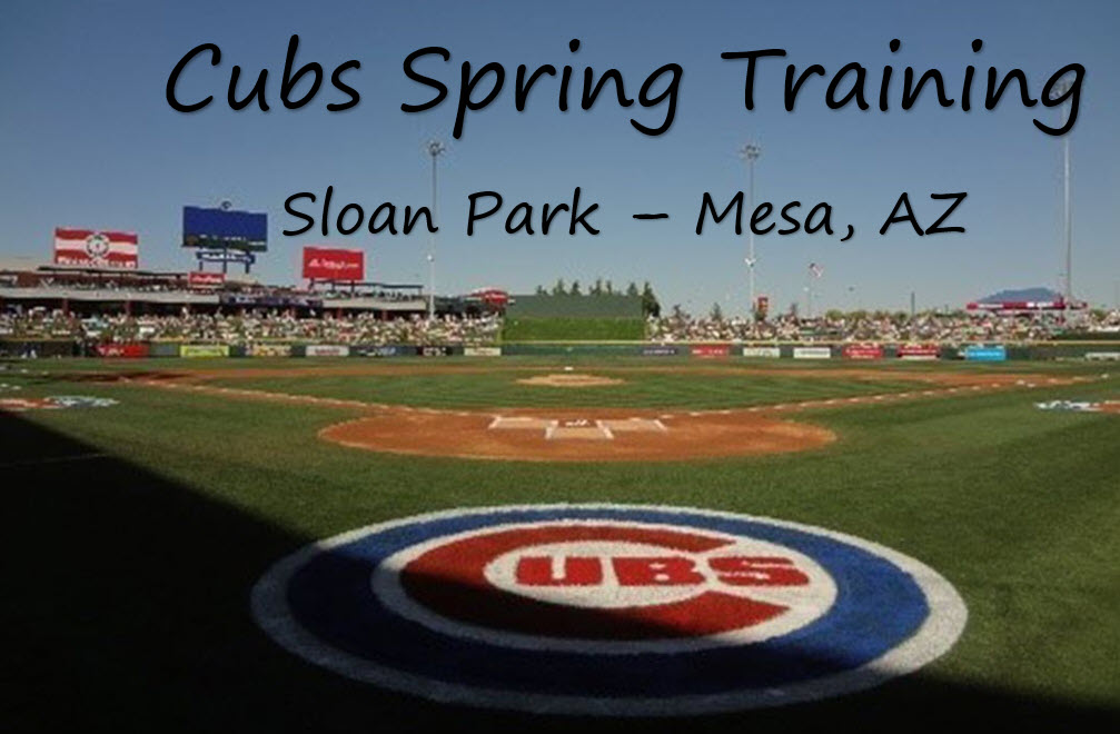 cubs spring training